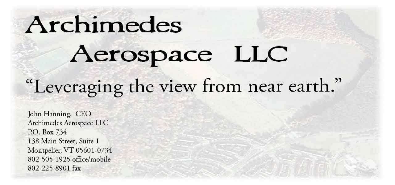 splash page for archimedes Aerospace LLC.